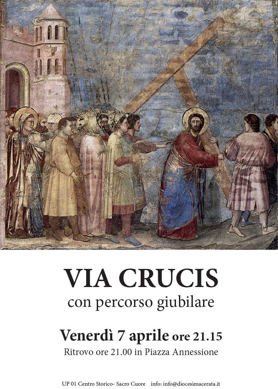 2017 04 07 Via Crucis con percorso giubilare