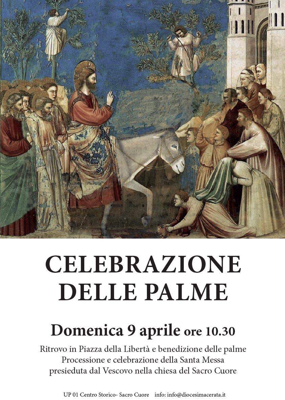 9 aprile: Celebrazione delle Palme