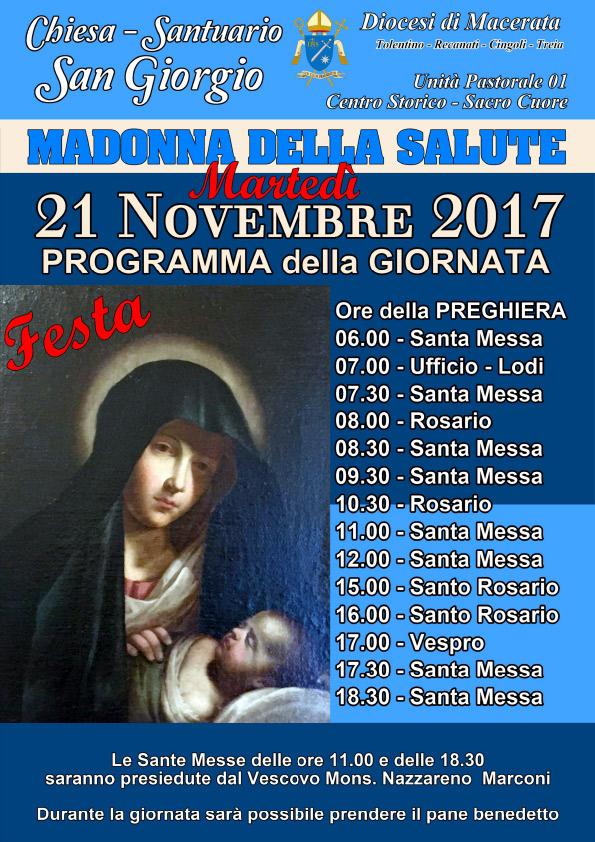 2017 11 21 Festa della Madonna della Salute